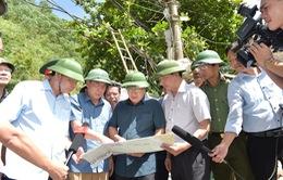 Rà soát các vị trí có nguy cơ sạt lở ở Hòa Bình, khẩn trương đưa người dân ra khỏi khu vực nguy hiểm
