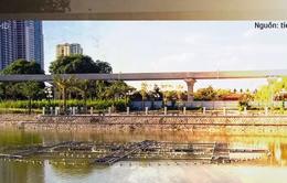 Các dự án công viên, hồ điều hòa tại Hà Nội ngổn ngang dưới 40 độ C