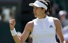 Vòng 2 đơn nữ Wimbledon: Sharapova dừng bước; Muguruza, Halep đi tiếp