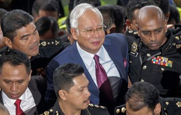Cựu Thủ tướng Malaysia Najib đối mặt với bản án 20 năm tù