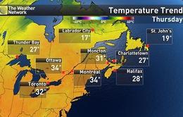 6 người tử vong do nắng nóng ở Montreal, Canada