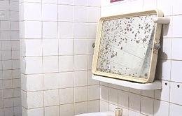 20% nhà vệ sinh bệnh viện bẩn