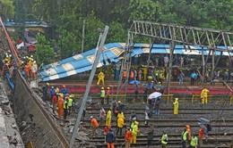 Sập cầu ở Ấn Độ, ít nhất 5 người bị thương