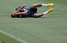 FIFA World Cup™ 2018: Neymar tập... ăn vạ để mua vui cho đồng đội