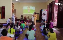 Việc tử tế: Lớp học tiếng Anh vui vẻ tại chùa