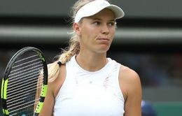 Vòng 2 đơn nữ Wimbledon: Caroline Wozniacki sớm dừng bước