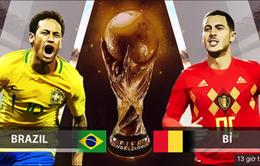 Tứ kết FIFA World Cup™ 2018, Brazil – Bỉ: Cuộc đối đầu hấp dẫn từ băng ghế HLV (1h00 ngày 7/7 trên VTV3)