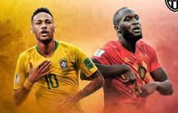 Lịch thi đấu và tường thuật trực tiếp tứ kết FIFA World Cup™ 2018 ngày 6/7 và sáng 7/7: Uruguay – Pháp, Brazil – Bỉ