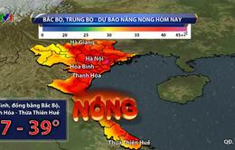 Nắng nóng ở miền Bắc và miền Trung giảm dần từ hôm nay