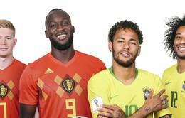 Tứ kết FIFA World Cup™ 2018, Brazil – Bỉ: Tuyệt đỉnh tấn công (1h00 ngày 7/7)