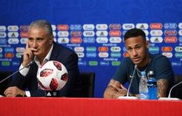 Brazil chính thức công bố đội hình thi đấu trận tứ kết gặp Bỉ
