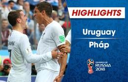 HIGHLIGHTS: ĐT Uruguay 0-2 ĐT Pháp (Tứ kết FIFA World Cup™  2018)
