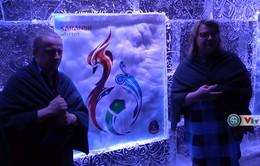 Phóng viên Thể Thao VTV tác nghiệp tại Nga: Nhà băng World Cup – trải nghiệm thú vị với người hâm mộ