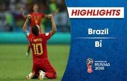 HIGHLIGHTS: ĐT Brazil 1-2 ĐT Bỉ (Tứ kết FIFA World Cup™  2018)