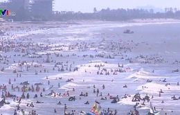 Các bãi biển đều kín khách du lịch