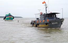 Hải đội 2 cứu nạn thành công tàu cá gặp nạn trên biển