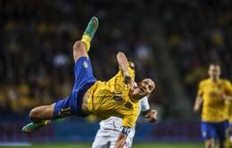 Ibrahimovic đạt cột mốc khó tin trong sự nghiệp ở tuổi 36