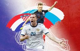 World Cup 2018, Nga - Croatia: Cho một giấc mơ! (1h00 ngày 8/7 trực tiếp trên kênh VTV3)