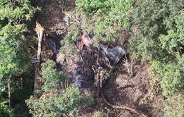 Rơi máy bay quân sự Thái Lan, 3 người thiệt mạng