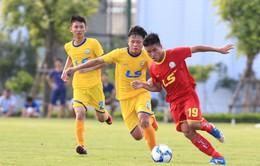 Trước 2 trận bán kết giải BĐ vô địch U17 QG - Cúp Thái Sơn Nam 2018