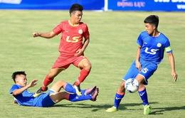 Kết quả lượt trận thứ 3 bảng A giải U17 Quốc gia - Cúp Thái Sơn Nam 2018, ngày 1/7: SHB Đà Nẵng cùng PVF dắt tay nhau vào bán kết