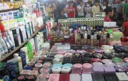 Tràn lan mỹ phẩm giả, thuốc bị cấm lưu hành tại TP.HCM