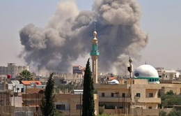 Quân nổi dậy ở phía Nam Syria chấp nhận đầu hàng