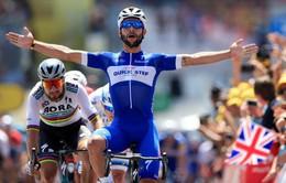 Fernando Gaviria giành áo vàng chặng 1 Tour De France 2018