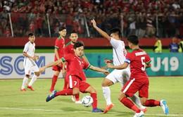 Thua Indonesia 0-1, U19 Việt Nam hẹp cửa đi tiếp tại giải U19 AFF 2018