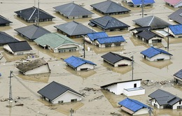 Gia tăng số người thiệt mạng do mưa lũ lịch sử ở Nhật Bản