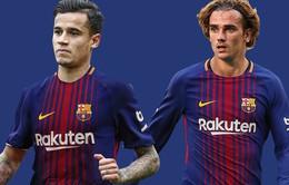 Chuyển nhượng bóng đá quốc tế ngày 20/01/2018: Loại Coutinho, Barcelona muốn dành áo số 7 cho Griezmann