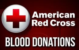 Hội chữ thập đỏ Mỹ tặng thẻ quà tặng của Amazon cho tình nguyện viên hiến máu