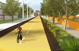 Biến tuyến đường sắt cổ thành không gian xanh