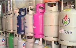 Giá gas tăng 11.000 đồng/bình 12kg