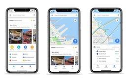 Google Maps cập nhật tính năng mới trên phiên bản iOS