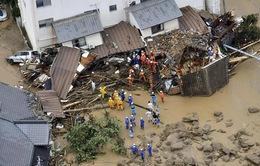 Số người thiệt mạng do thiên tai cao bất thường tại Nhật Bản
