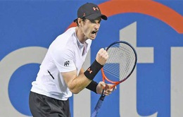 Andy Murray nhọc nhằn giành chiến thắng tại vòng 1 Citi Open 2018