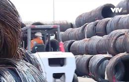 Điều tra lẩn tránh phòng vệ thương mại thép nhập khẩu vào Việt Nam