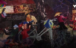 Vẻ đẹp Việt Nam qua nghệ thuật tranh cắt vải