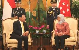 Phó Thủ tướng Phạm Bình Minh thăm chính thức Singapore