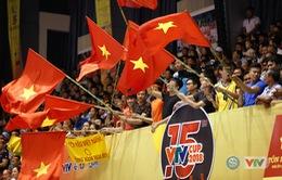 ẢNH: Nhìn lại trận bán kết VTV Cup kịch tính của ĐT Việt Nam trước Tứ Xuyên (Trung Quốc)