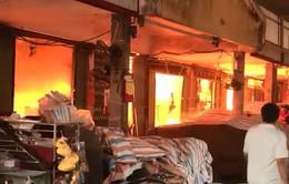 Ban Quản lý chợ Sóc Sơn có nhiều sai phạm trong phòng cháy