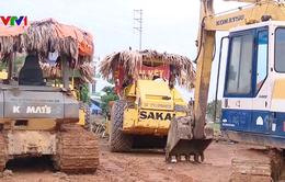 Dự án chợ đầu mối và kho vận ở Vĩnh Phúc 10 năm vẫn đình trệ