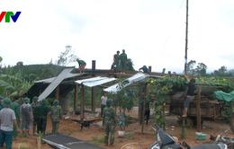 Kon Tum khẩn trương khắc phục hậu quả mưa lũ tại huyện biên giới Ia H'Drai