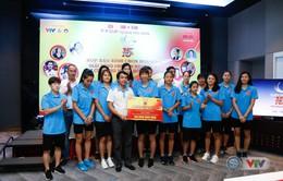 VTV Cup Ống nhựa Hoa Sen 2018: ĐT Việt Nam nhận thưởng 200 triệu đồng trước trận chung kết