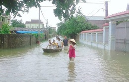 Mưa lớn gây ngập lụt tại Kon Tum, nhiều thôn, làng bị cô lập