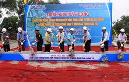 Quảng Trị triển khai xây dựng đường trung tâm khu kinh tế Đông Nam