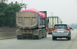 Gần 1.700 xe vi phạm chở quá tải trong tháng 7
