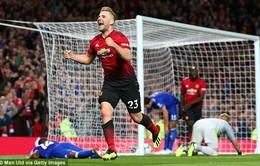 Man Utd 2-1 Leicester City: Dấu ấn Luke Shaw