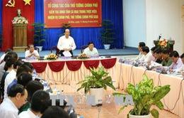 Tổ công tác của Thủ tướng Chính phủ làm việc tại Cà Mau, Cần Thơ